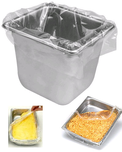 Steam Table Pan Disposable Liners With Plastic Ties