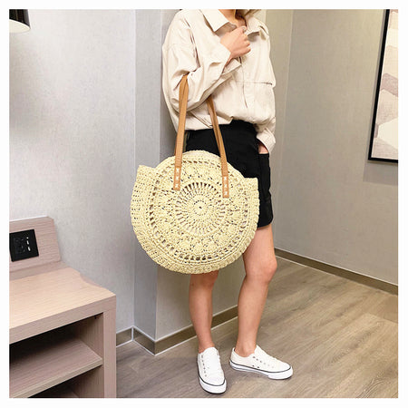 2020 Summer Round Light Hollow Tote