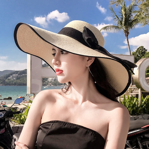 2020 Big Brim Foldable Straw Hat
