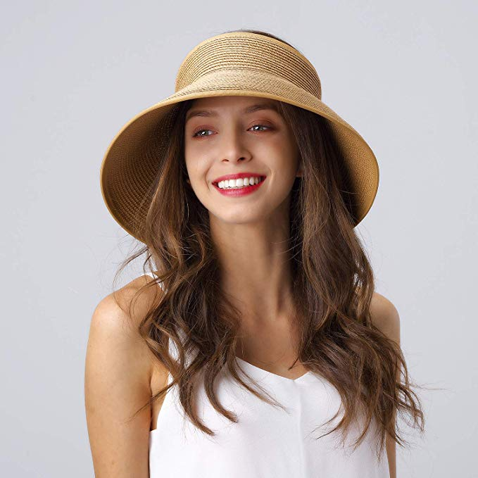 Sun Visor Summer Straw Hat