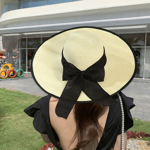 Large Casual Brim Straw Hat