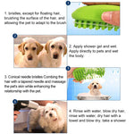 Load image into Gallery viewer, Dog Bath Massage Comb