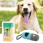 Load image into Gallery viewer, Portable, Eco-Friendly Dog Poop Bag Dispenser with LED light