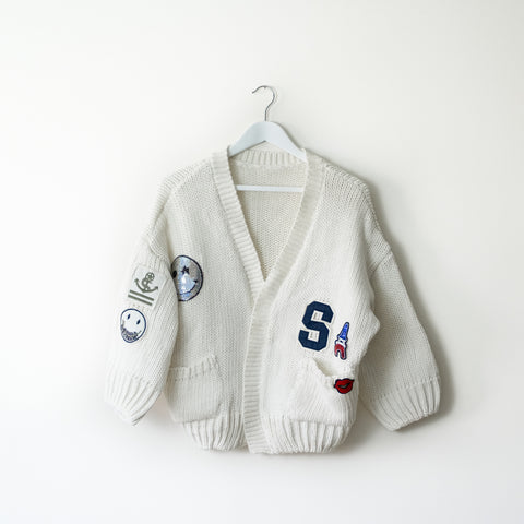 Chunky Knit Cardigan - house of petite
