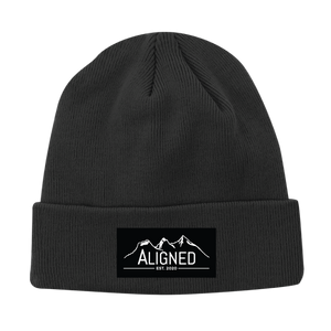Aligned Patch Toque - Smoke Grey - Aligned Apparel