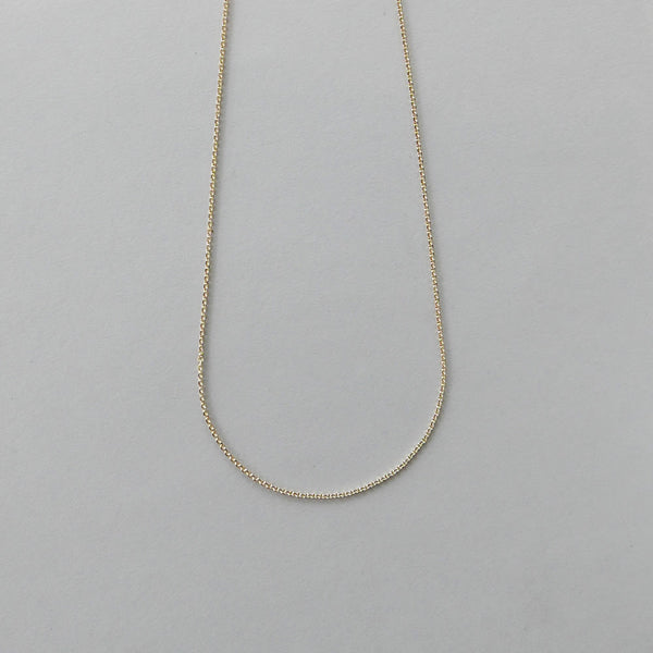 9ct Gold chain 38