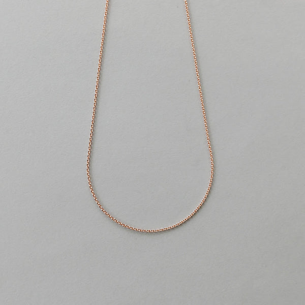 9ct rose gold chain