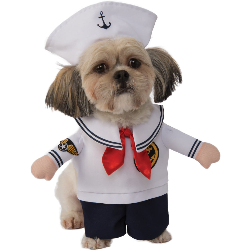 sailor pet costume comfortable