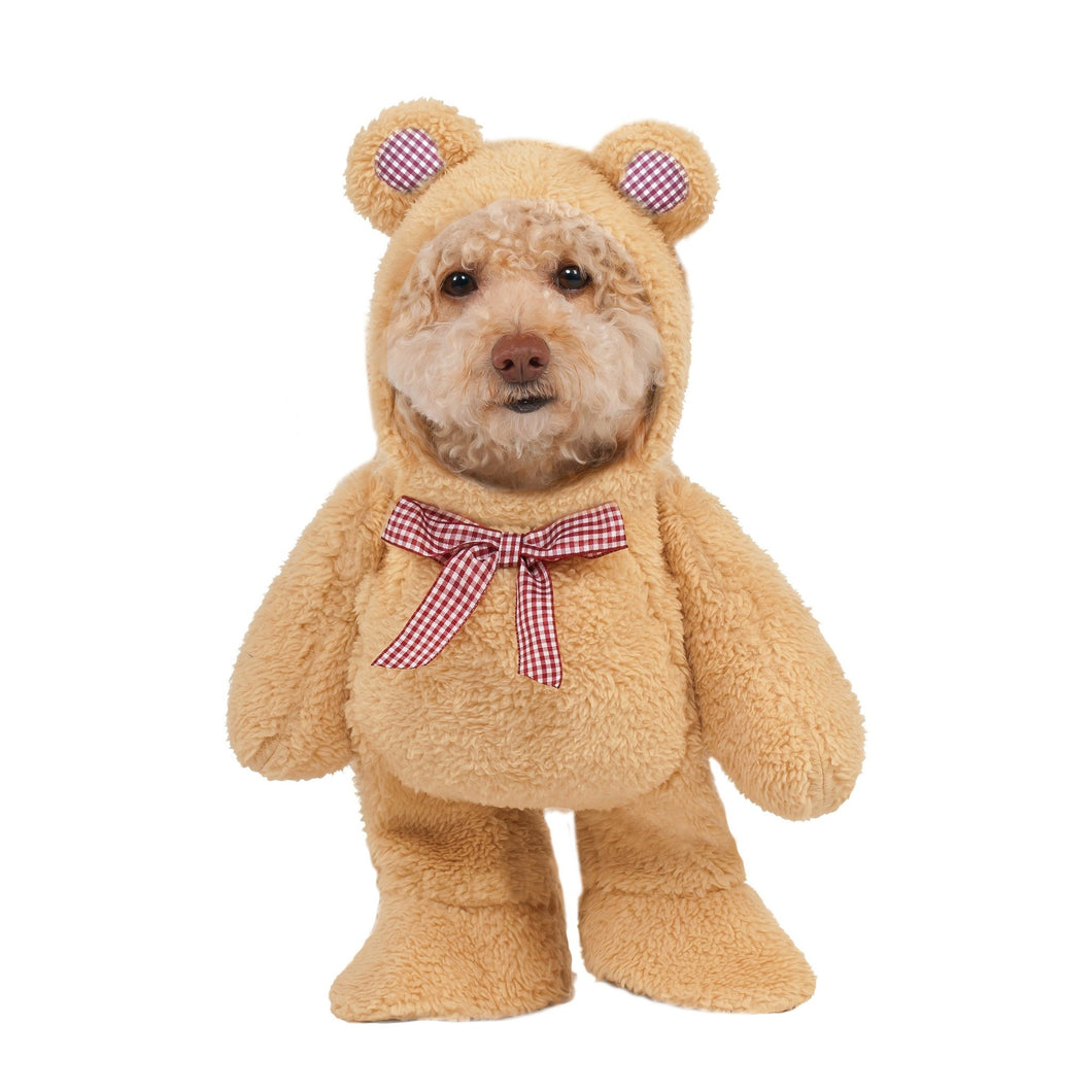 teddy bear pet costume comfortable
