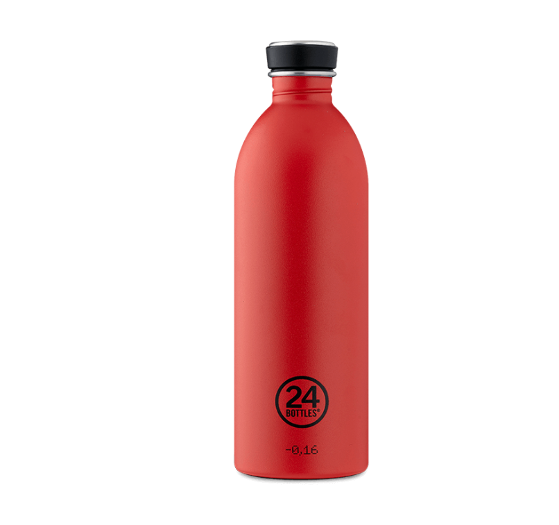 Hot Red Urban Bottle