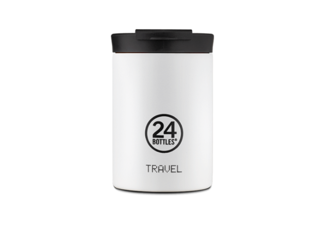 Ice White 350ml Travel Tumbler