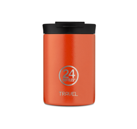 Sunset Orange 350ml Travel Tumbler