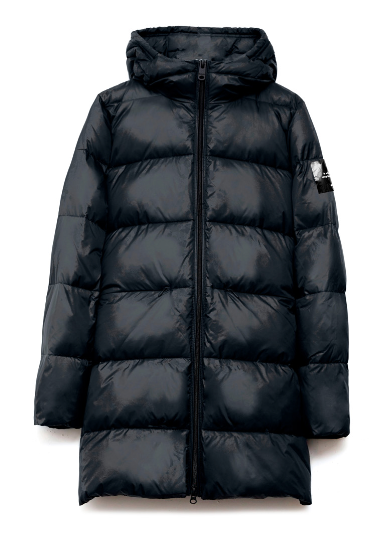Ecoalf - MARANGU COAT WOMAN DEEP NAVY