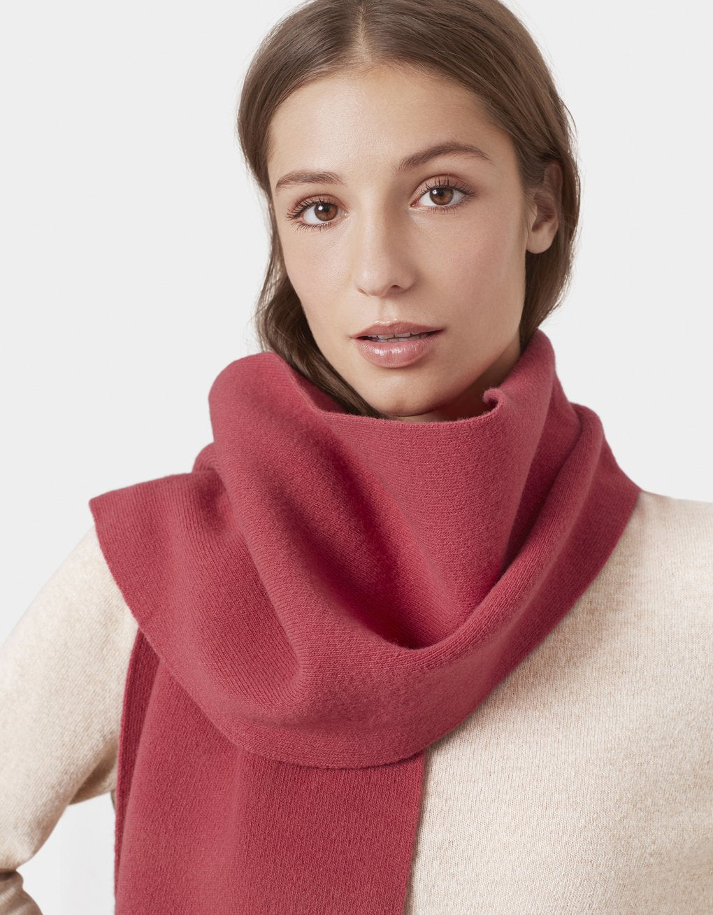 Colorful Standard -  Merino Wool Scarf Bubblegum Pink