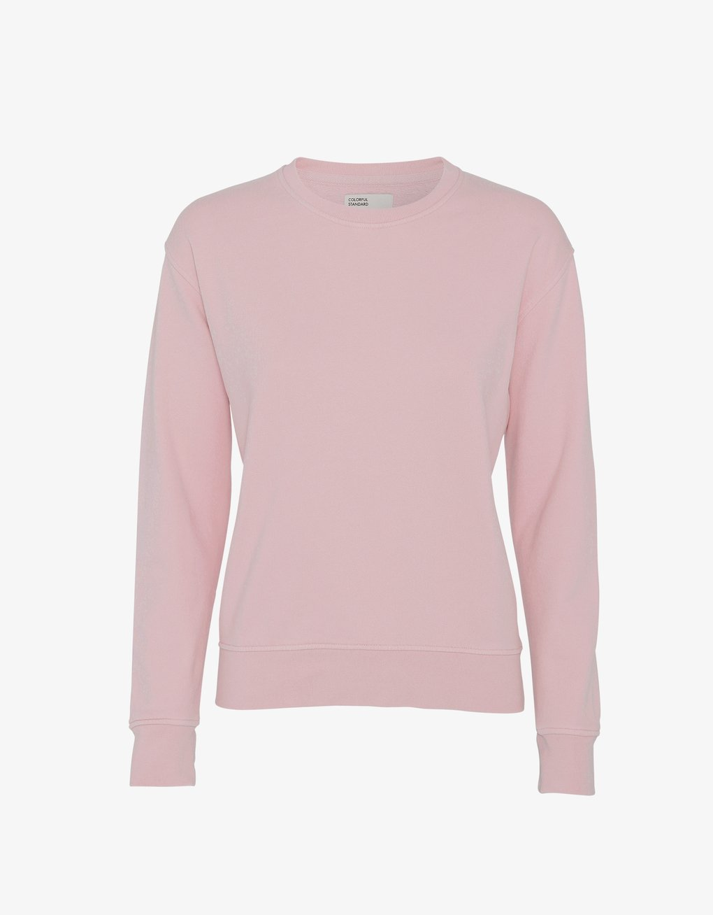 Colorful Standard -  Women Classic Organic Crew Faded Pink