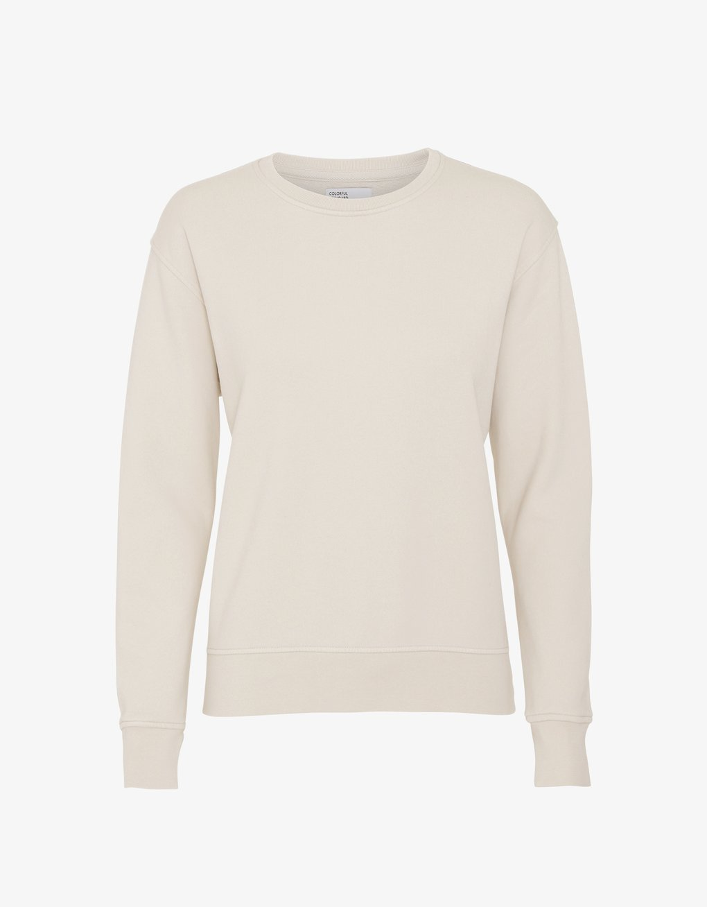 Colorful Standard -  Women Classic Organic Crew Ivory white