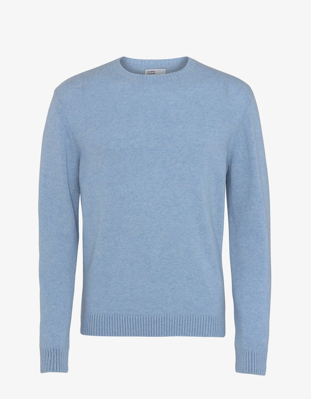 Colorful Standard -  Classic Merino Wool Crew Stone Blue