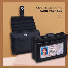 Load image into Gallery viewer, [70% OFF]PNL™ ANTI RFID PULL OUT CARD WALLLET