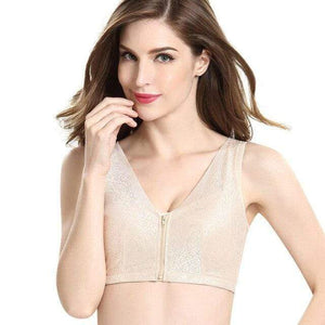 [BUY 2 FOR RM99][60% OFF] BELLE™ FRONT ZIPPER BRA