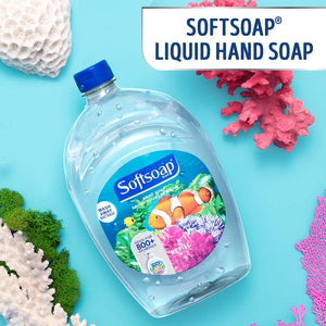 Softsoap Liquid Hand Soap Refill, Aquarium Series - 32 fluid ounces (6 Pack)