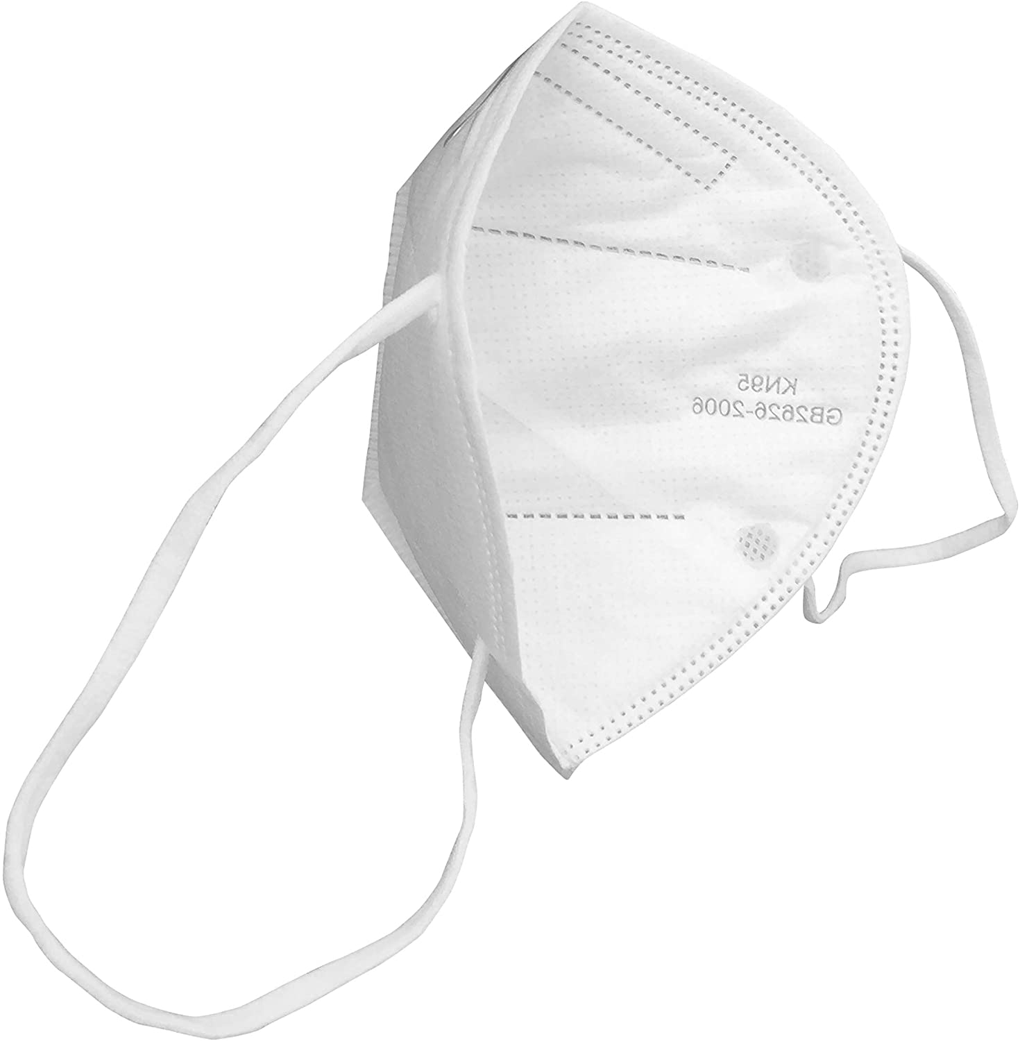 SupplyAID RRS-KN95-5PK KN95 Protective Mask, Protection Against PM2.5 Dust. Pollen and Haze-Proof, 5 Pack Standard