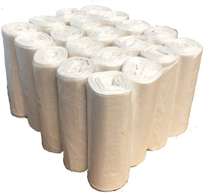 Trash Bags (1000 Count, Bulk) - Trash Can Liners - 7 Gallon