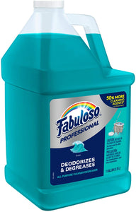 FABULOSO-US06969A Professional All Purpose Cleaner & Degreaser Lemon Green
