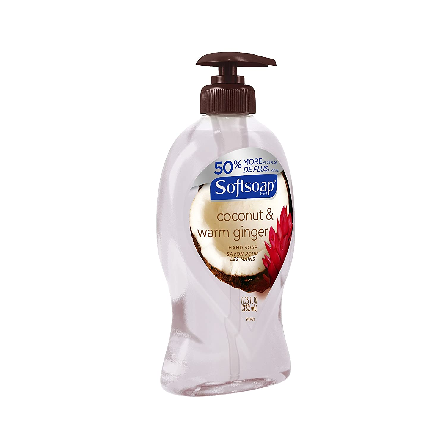 Softsoap Liquid Hand Soap, Coconut and Warm Ginger - 11.25 fluid ounce (6 Pack) Coconut and Warm Ginger 11.25 Fl Oz