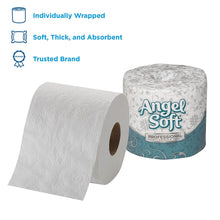 Load image into Gallery viewer, Angel Soft Professional Series Premium 2-Ply Embossed Toilet Paper by GP PRO (Georgia-Pacific), 16880, 450 Sheets Per Roll, 80 Rolls Per Case, White