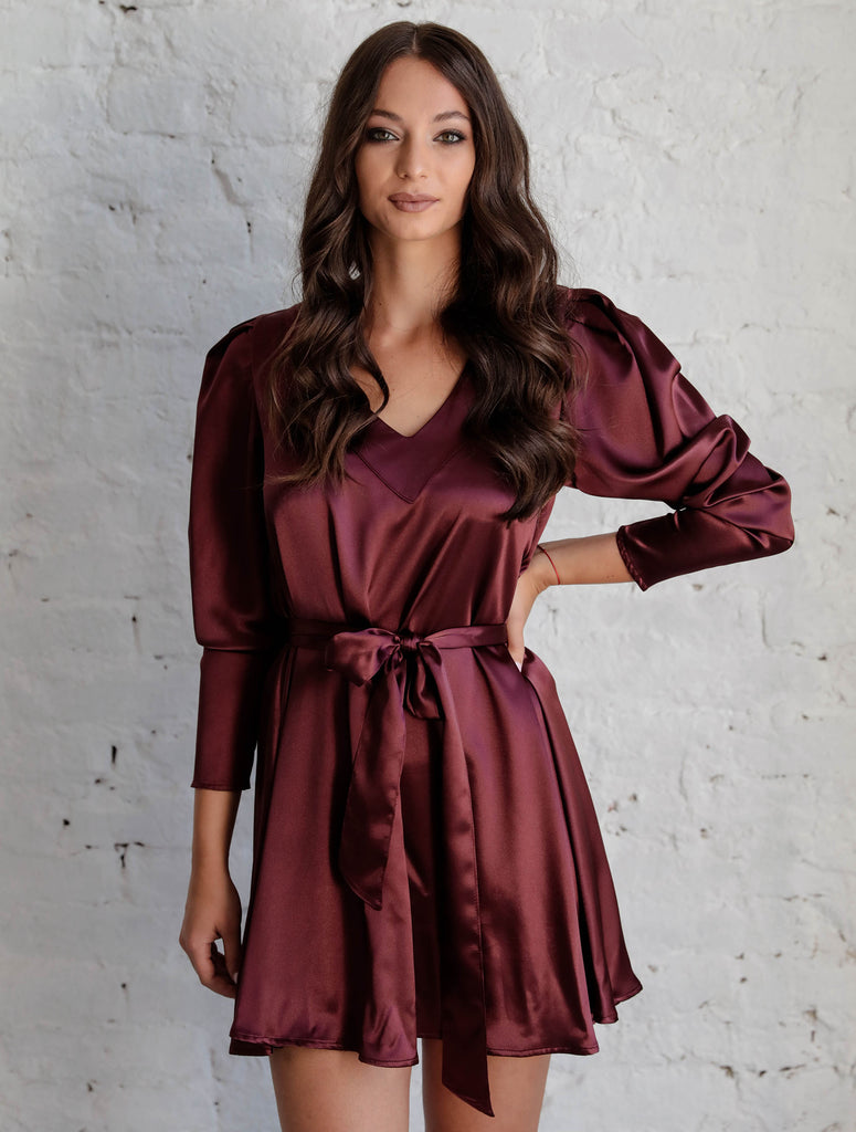 Eva Dress Satin