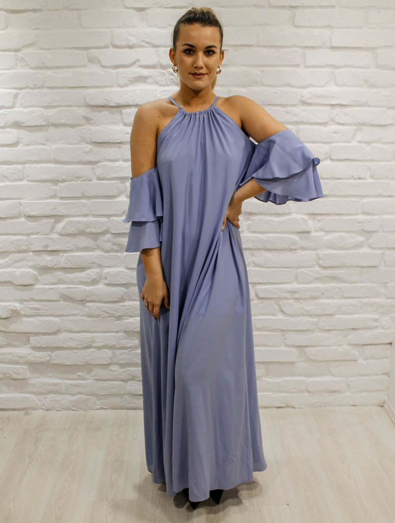 Anabelle maxidress - blue