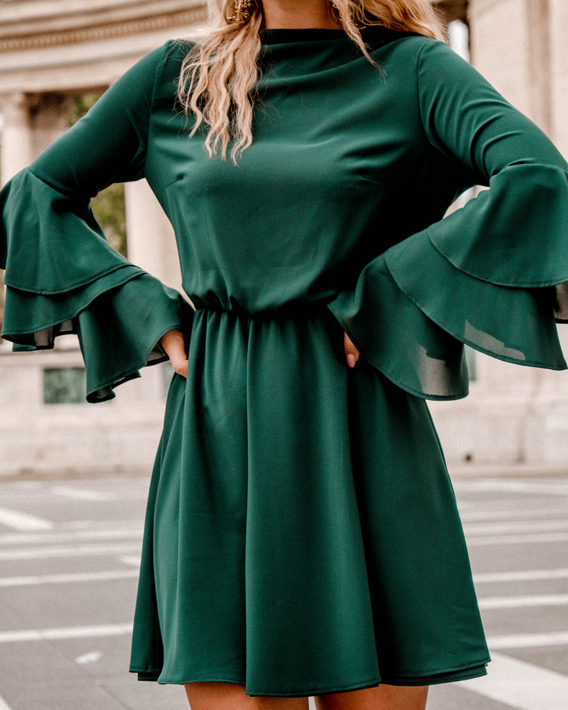 Elizabeth dress - green