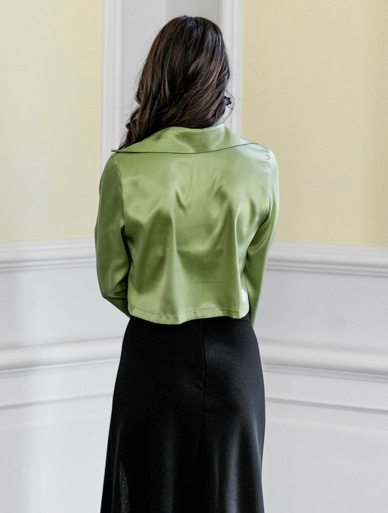 Kylie top - apple green