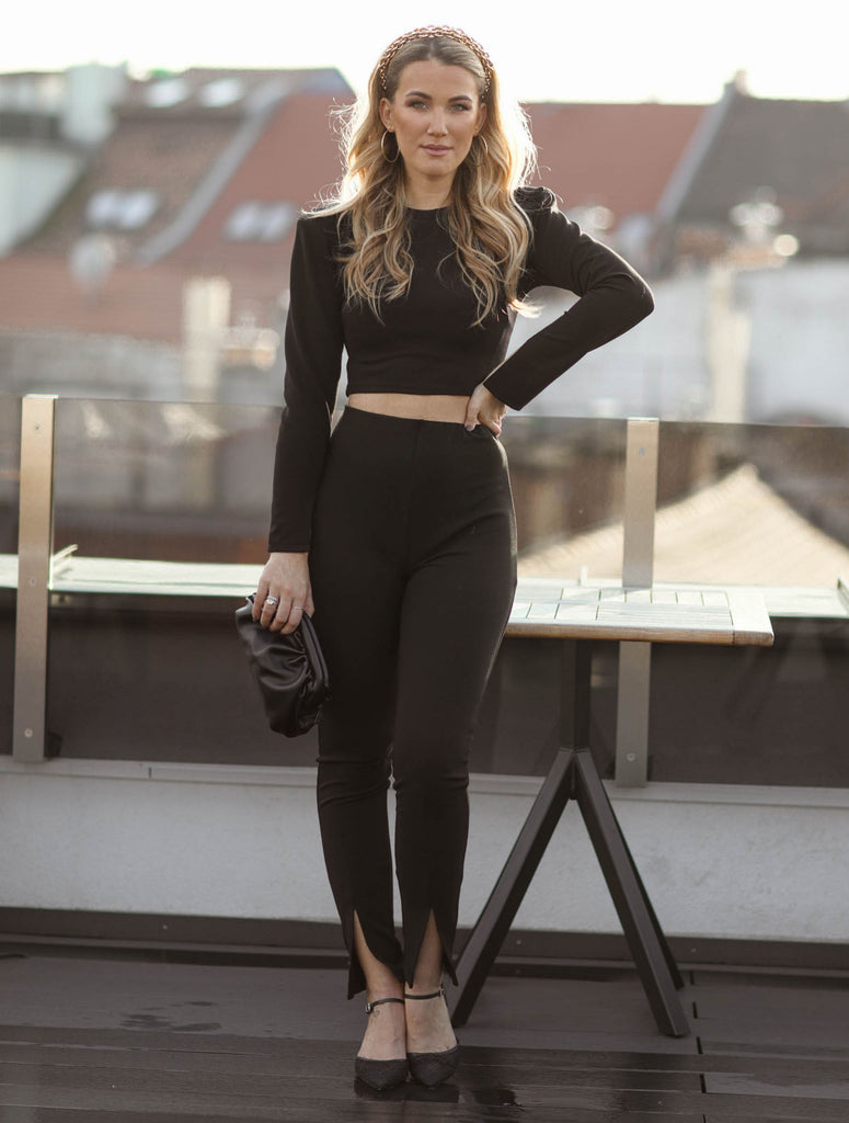 Lia pants - black