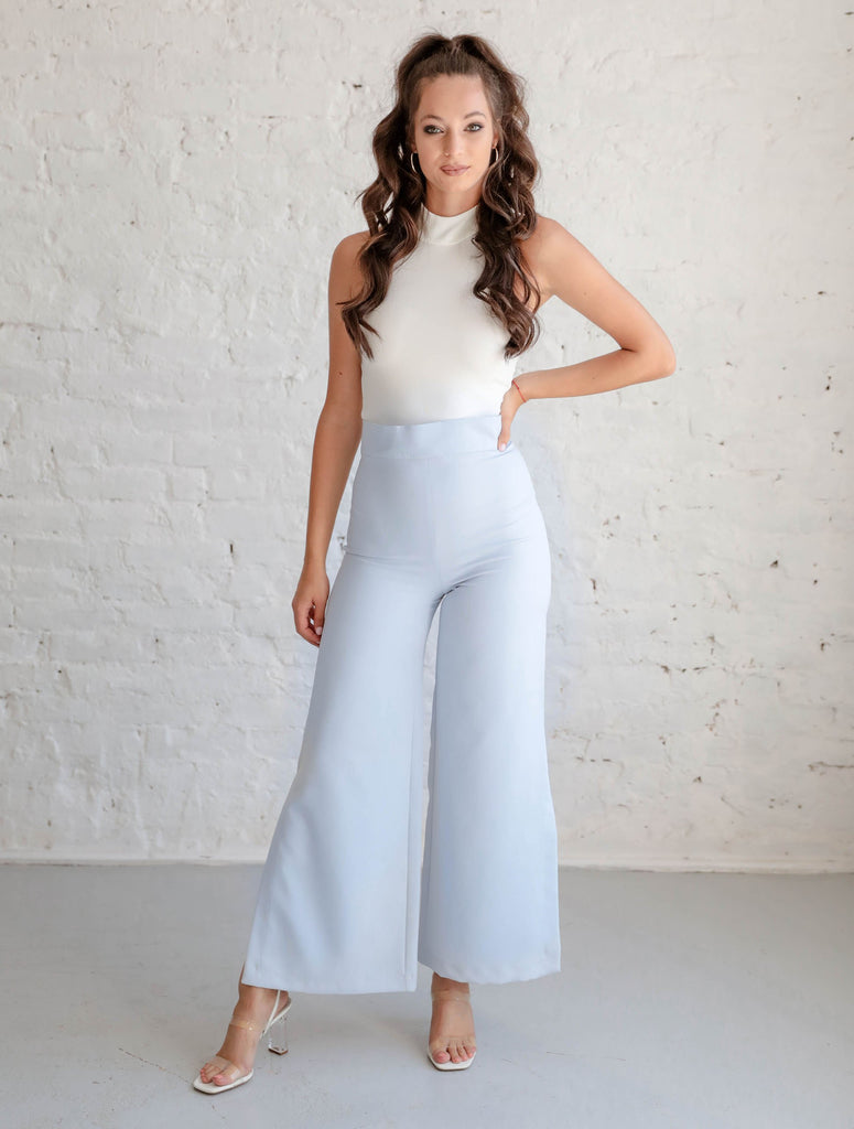 Chloe pants - baby blue