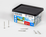 "Load image into Gallery viewer, #8×1⅝"" 304 grade stainless steel screws - 350 QTY"