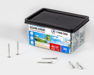 "#8×1⅝"" 304 grade stainless steel screws - 350 QTY"