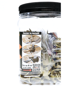 Cat's Claw Fasteners Fence Fastening System For Hardwoods or Plastics (Replaces Fence Staples)