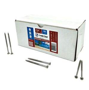 "#12×4"" Stainless steel screws - 350 QTY"
