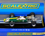 Scalextric Team Lotus 49 1967 Jim Clark #5 C3222