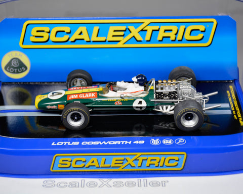 Scalextric Team Lotus 49 Jim Clark 1968 #4 C3206