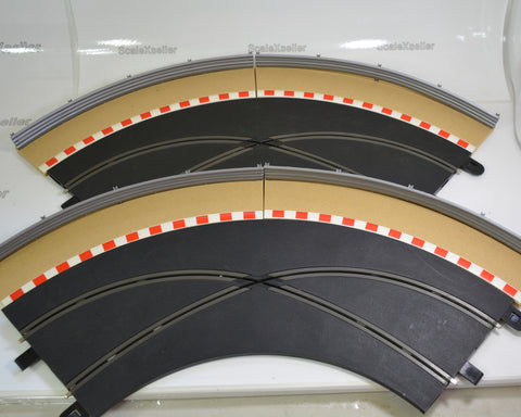 Scalextric Sport Crossover Curves plus Borders and Barriers STC1