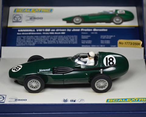 Scalextric Vanwall Silverstone 1956 C3404A