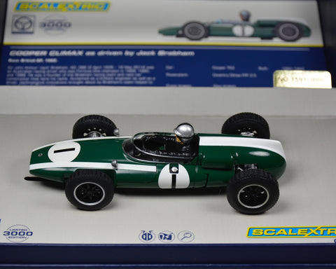 Scalextric Cooper Climax Brabham C3658A