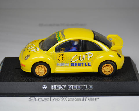 Scalextric VW Beetle Yellow No 17 C2300