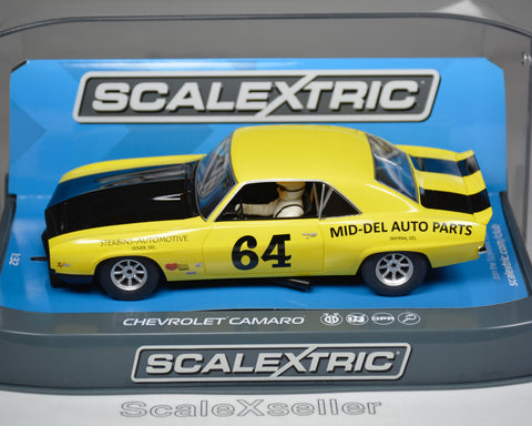 Scalextric Chevrolet Camaro 1969 Trans Am C3724