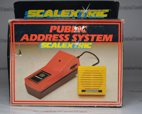 Scalextric Public Address System C211