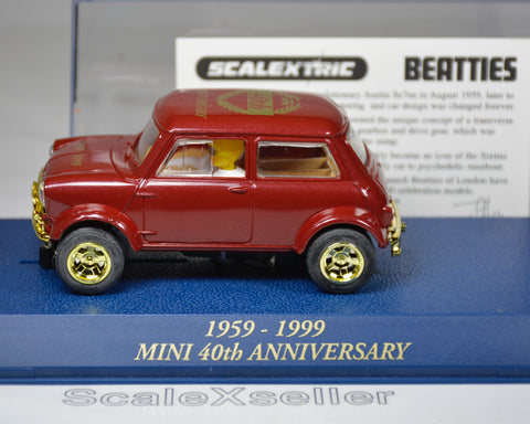 Scalextric Mini 50th Anniversary Beatties Limited Edition C2249 - ScaleXseller Slot Cars & Track
