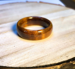 Solid Koa Ring