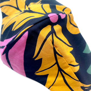 Load image into Gallery viewer, 'Helda' Bold Floral Printed Italian Cotton Fashion Mask (Non-Medical)